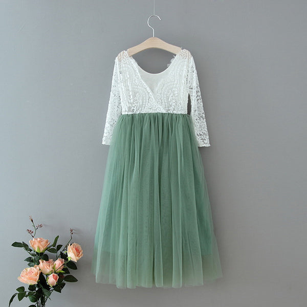 The Jocelyn Dress - Sage - Nicolette's Couture