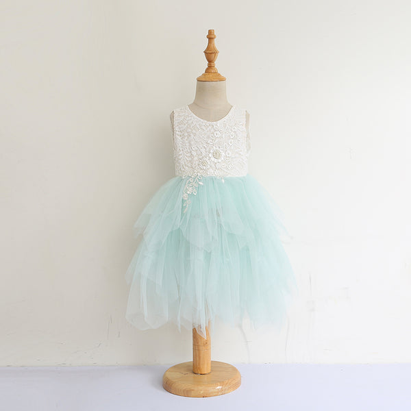The Alanna Dress - Mint - Nicolette's Couture