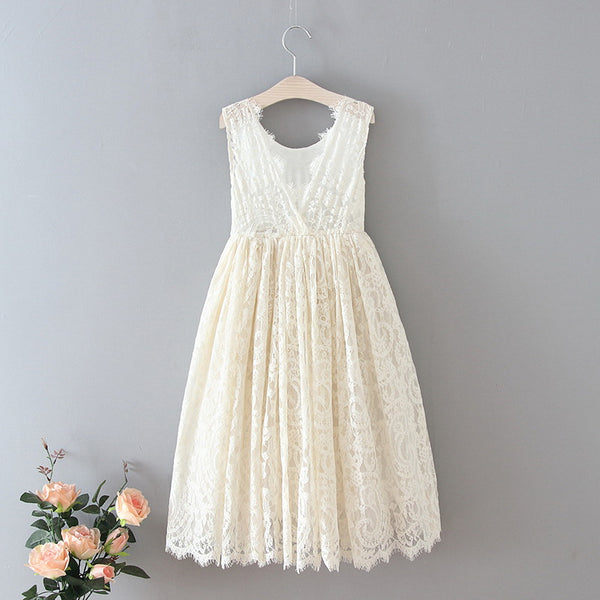 The Ophelia Dress - Ivory - Nicolette's Couture
