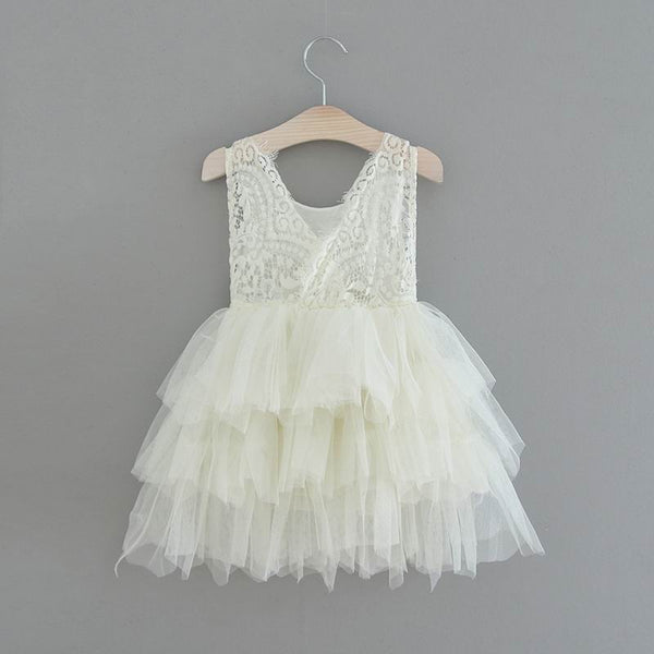 The Katherine Dress - Ivory - Nicolette's Couture