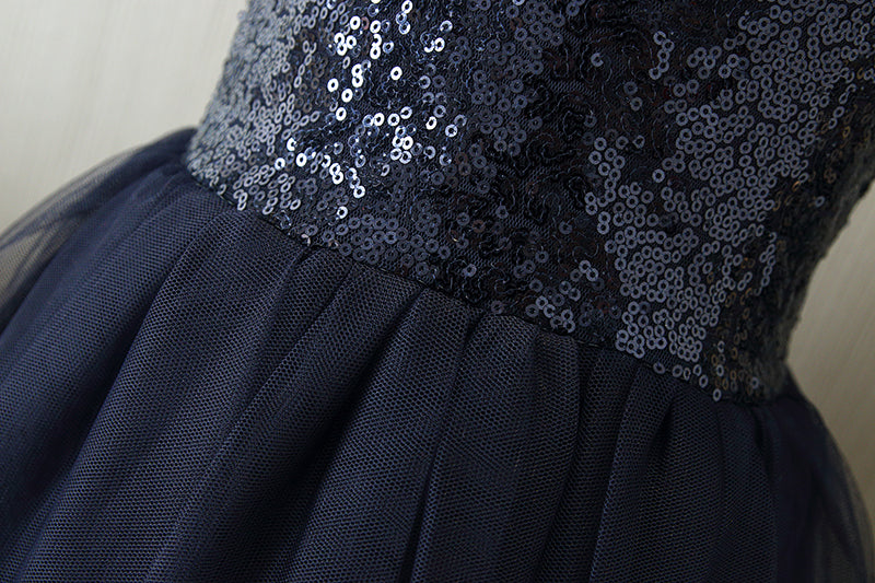 The Ava Dress - Navy - Nicolette's Couture