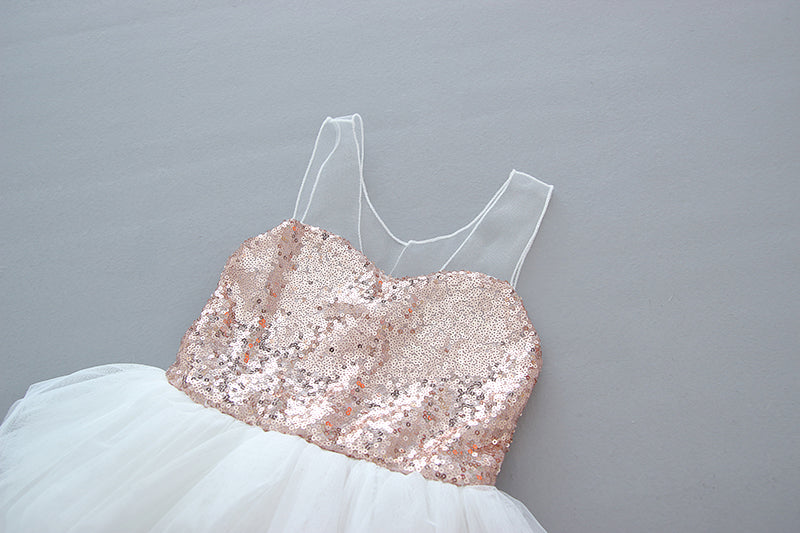 The Jillian Dress - Rose Gold - Nicolette's Couture