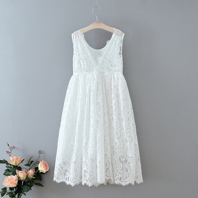 The Ophelia Dress - White - Nicolette's Couture