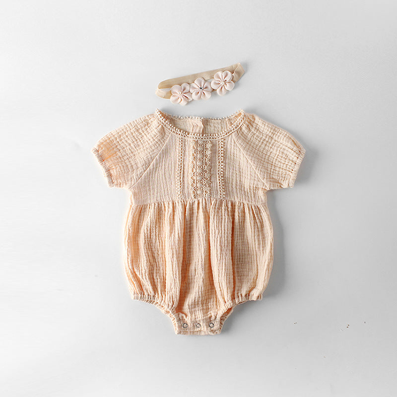 The Annabelle Romper - Nicolette's Couture