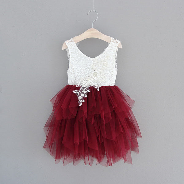 The Alanna Dress - Burgundy - Nicolette's Couture