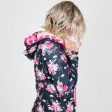 Nicolette's Signature Hoodie - Pink Floral - Nicolette's Couture