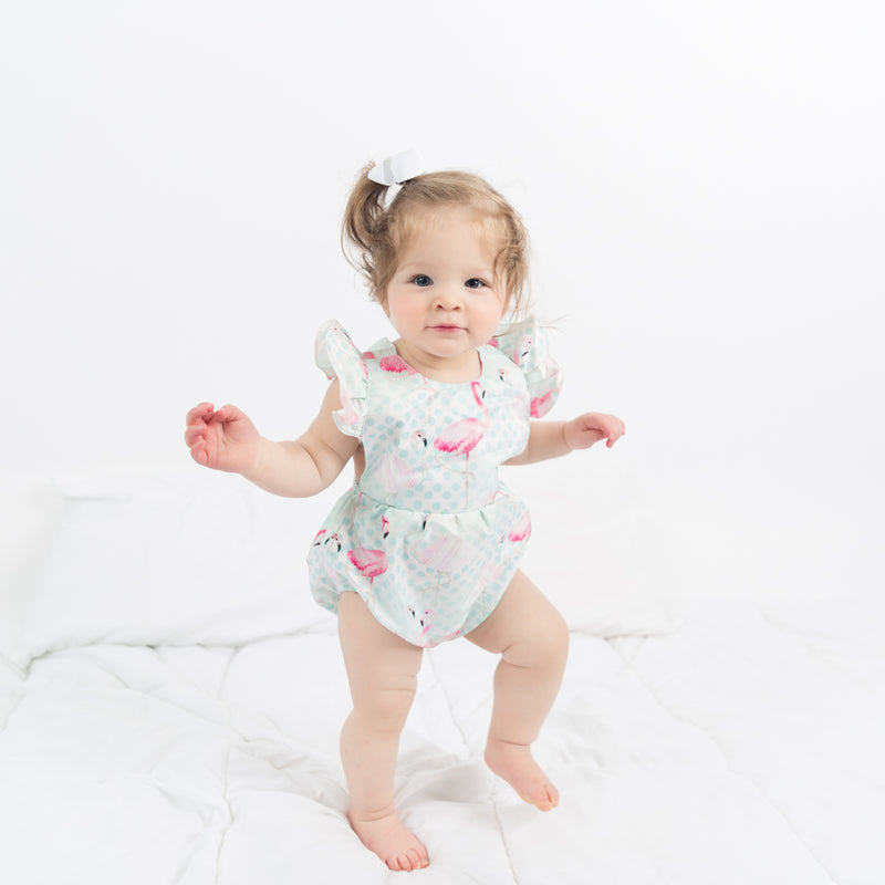 The Flamingo Romper - Nicolette's Couture