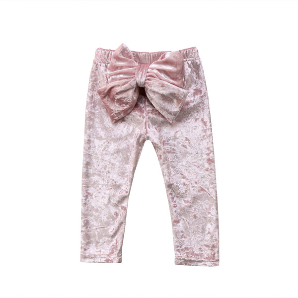 The Hannah Crushed Velvet Pants - Nicolette's Couture