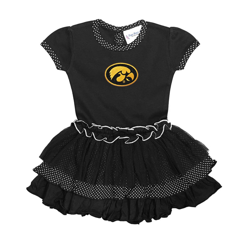 The Iowa Hawkeyes Dress - Nicolette's Couture