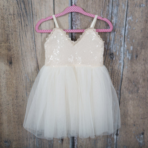The Ava Dress - Ivory - Nicolette's Couture