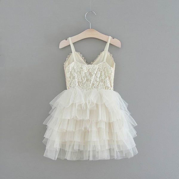 The GiGi Dress - Ivory - Nicolette's Couture