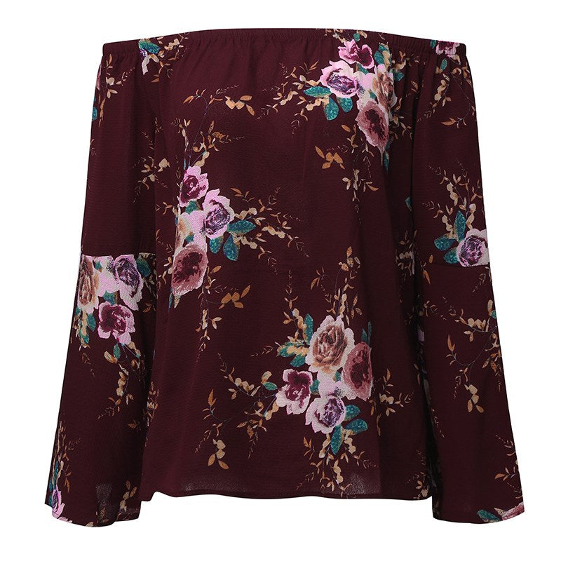 The Kaitlyn Floral Top - Nicolette's Couture