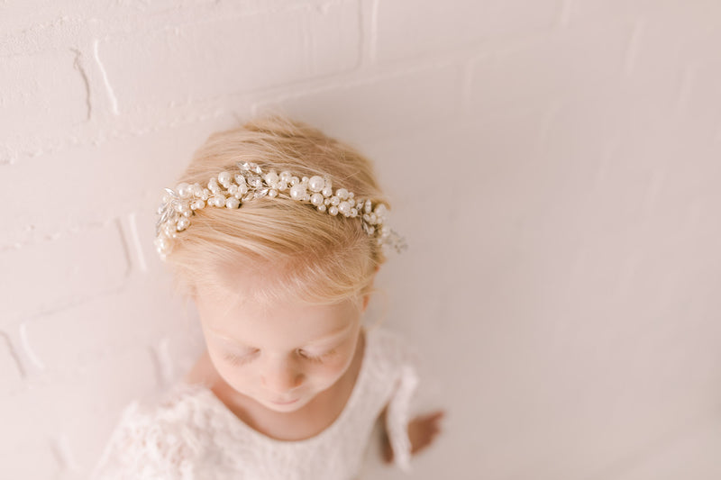 The Kelly Headpiece - Nicolette's Couture