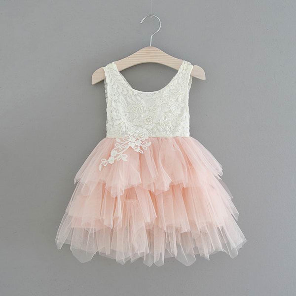 The Katherine Dress - Pink - Nicolette's Couture