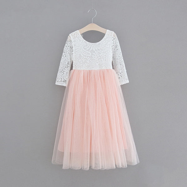 The Jocelyn Dress - Pink - Nicolette's Couture