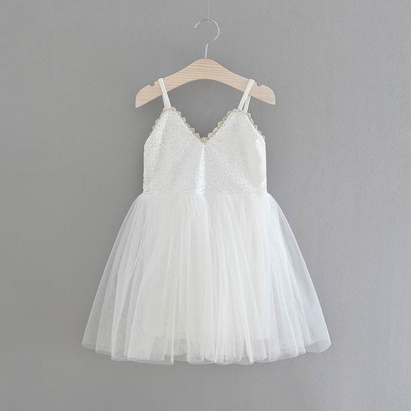 The Ava Dress - White - Nicolette's Couture