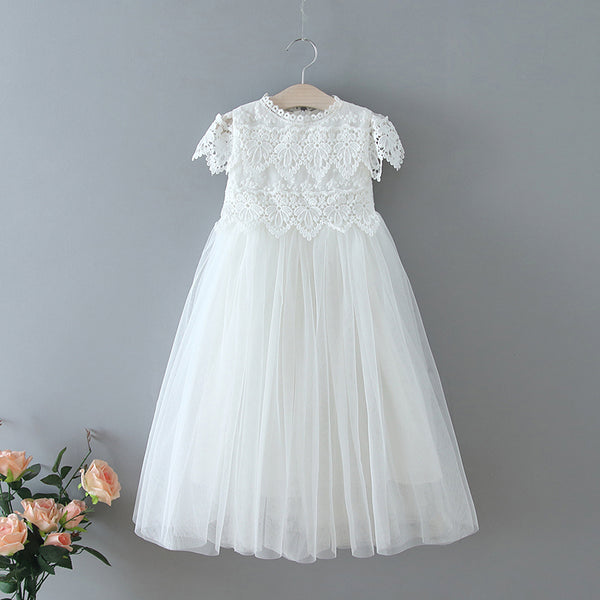 The Sienna Dress - White - Nicolette's Couture