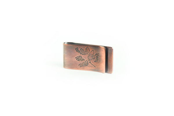 Apple Blossom Money Clip