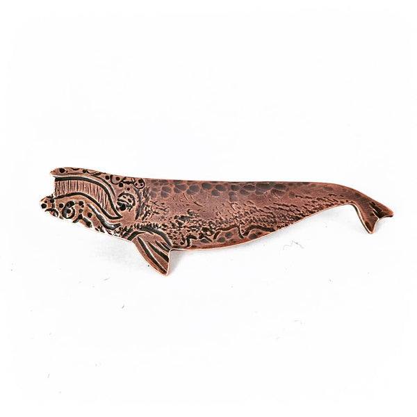 Right Whale Familiar Brooch