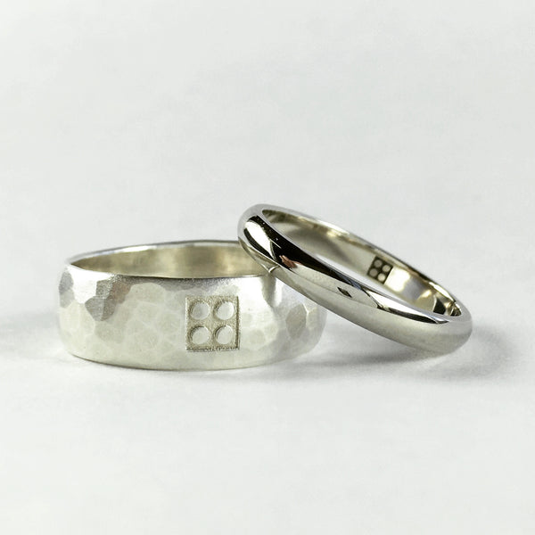 Custom Lego wedding bands