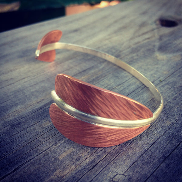 Copper Arrow Bracelet