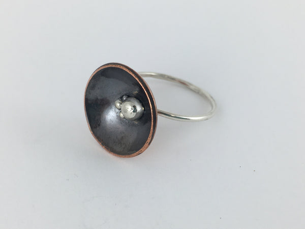 Copper Nest Ring: Large