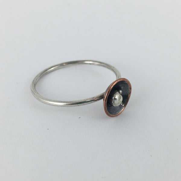 Copper Nest Ring: Small