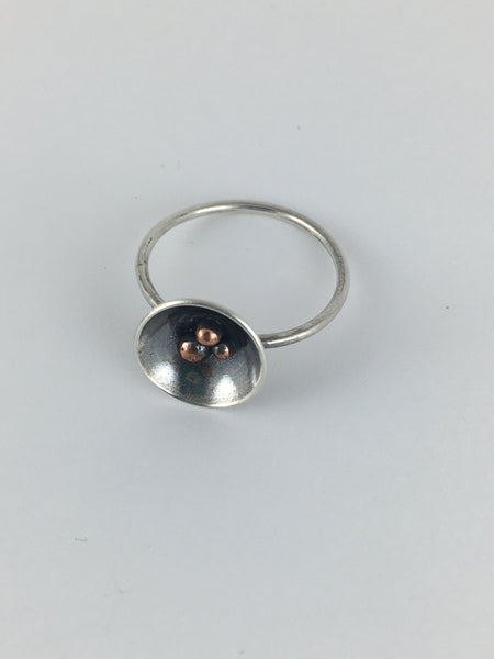 Silver Nest Ring: Medium