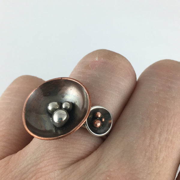 Silver Nest Ring: Small