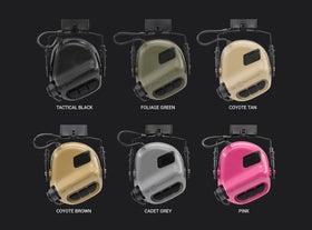 Earmor M31H MOD1 Electronic Hearing Protector for ARC Helmet Rails (FAST Helmet)-Combat Gear-Crown Airsoft