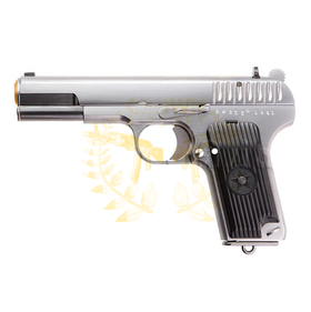 WE TT33 Tokarev TT-33 Gas Blow Back (Silver)