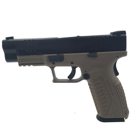 HK3 XDM 4.0 Tactical GBB Pistol FDE (Full marking)-Pistols-Crown Airsoft