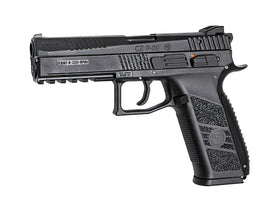 KJ Works CZ P-09 Duty (ASG Licensed) - Green Gas Version-Pistols-Crown Airsoft