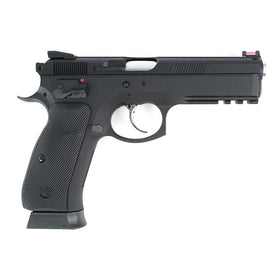 KJ Works CZ SP-01 Shadow (ASG Licensed) - Gas Version-Pistols-Crown Airsoft