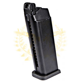 WE G19 / G23 Gas Airsoft Blowback Magazine (Black)-Pistol Magazines-Crown Airsoft