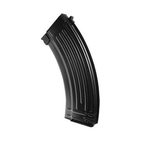 30 Round Gas Magazine for AK GBB series (metal shell-Black)-Rifle Magazines-Crown Airsoft