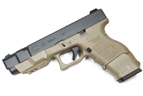 WE Tech G series G33 Advance GBB Pistol (TAN)-Pistols-Crown Airsoft
