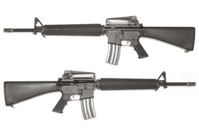 WE Tech M16A3 AEG Rifle(Black)-Rifles-Crown Airsoft