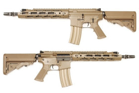 WE Tech Raptor AEG Rifle(FDE)-Rifles-Crown Airsoft