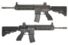 WE Tech 888 (4168) AEG Rifle (Black)-AEG-Crown Airsoft