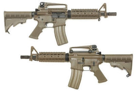 WE Tech Open Bolt M4 RIS Gas Blowback GBBR Airsoft Rifle-Rifles-Crown Airsoft