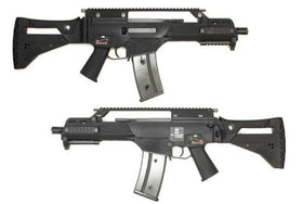 WE Tech 999-G36C IDZ GBB Rifle(Black)-Rifles-Crown Airsoft
