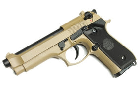 WE Tech M92S GBB Pistol (Tan)