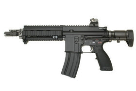 WE Tech 888-4168C GBBR (Black)-Rifles-Crown Airsoft