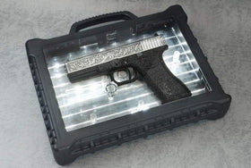 WE Tech G series Engraved G17 IV Box set(Ivory)-Pistols-Crown Airsoft