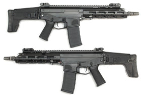 WE Tech MSK E02 AEG Rifle (Black)-Rifles-Crown Airsoft