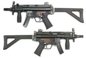 WE Tech Apache K PDW GBB (Black)-Rifles-Crown Airsoft