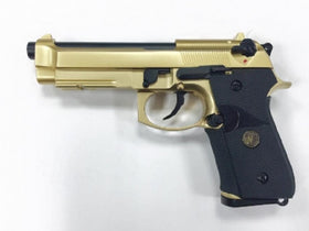 WE Tech M9A1 GBB Pistol Navy version (Gold )