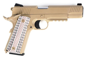 WE Tech M45A1 1911 GBB Pistol (FDE)