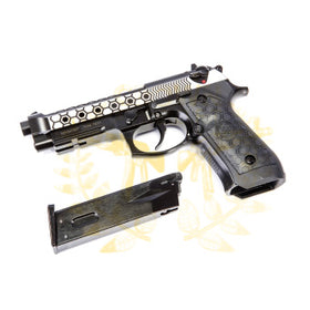 WE Tech M9A1 HEX CUT GBB Pistol( Two-Tone)-Pistols-Crown Airsoft